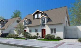 Eine Doppelhaushälfte kaufen. Foto: Magda Fischer/fotolia.com