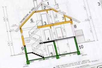 Bauplan für neue Häuser zum Kaufen. Foto: Gina Sanders/fotolia.com