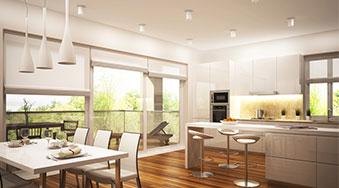 Terrassen-Wohnung, Foto: Robert slavun/fotolia.com