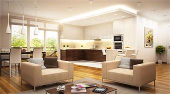 Etagen-Wohnung, Apartment, Foto: slavun /fotolia.com