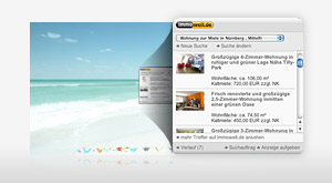 Dashboard Widget für Mac OSX - Download