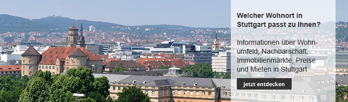 Wohnen und Leben in Stuttgart